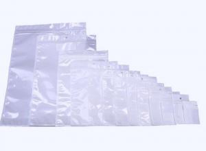 sacos ziplock em plástico liso para documentos