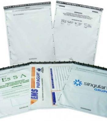envelope adesivo de plástico