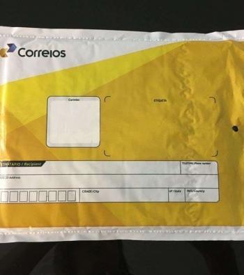 envelope com plástico bolha correios