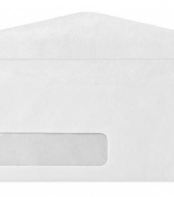 envelope de plástico com janela adesiva