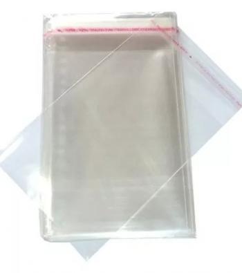 envelope em plástico