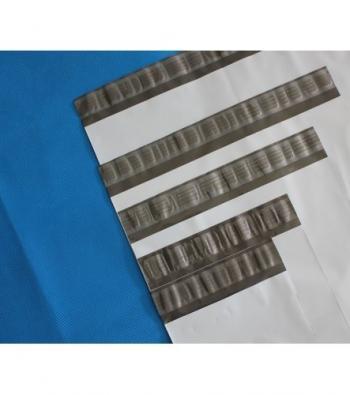 envelope em plástico com adesivos impresso