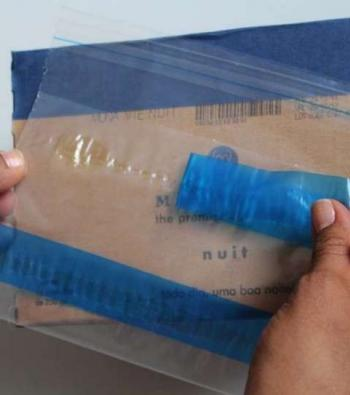 envelope plástico adesivado para nota fiscal