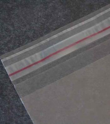 envelope plástico com aba auto colante