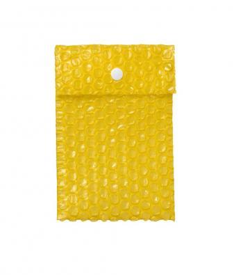 envelope plástico com botão