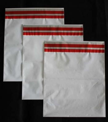 envelope plástico de segurança abas adesivadas