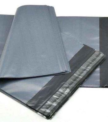 envelope plástico e aba adesiva