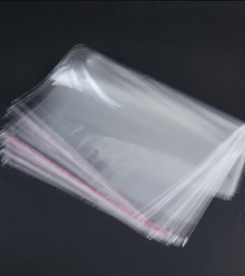 envelope plástico transparente auto adesivo