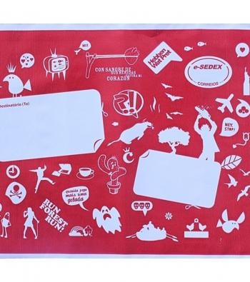 envelopes de plástico para correio personalizados