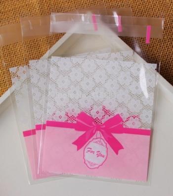 envelopes de plástico transparente auto adesivo